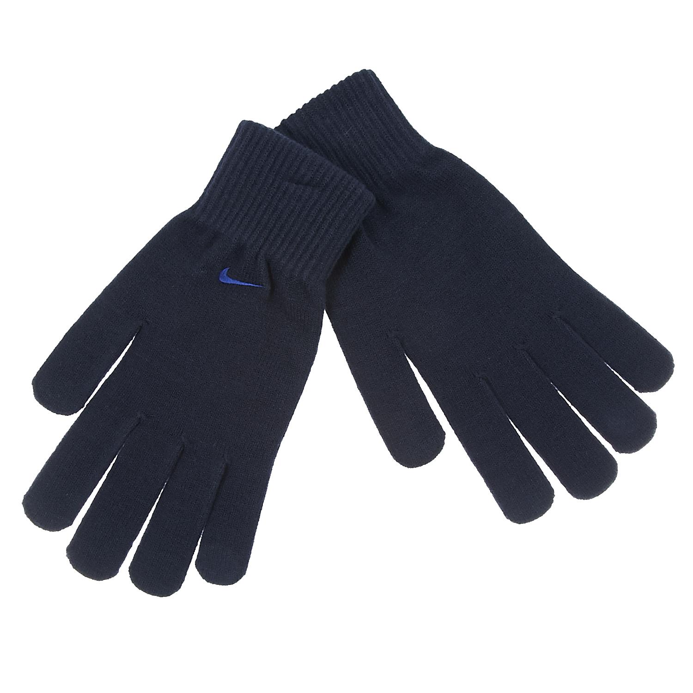 NIKE - Γάντια Nike μπλε γυναικεία αξεσουάρ φουλάρια κασκόλ γάντια