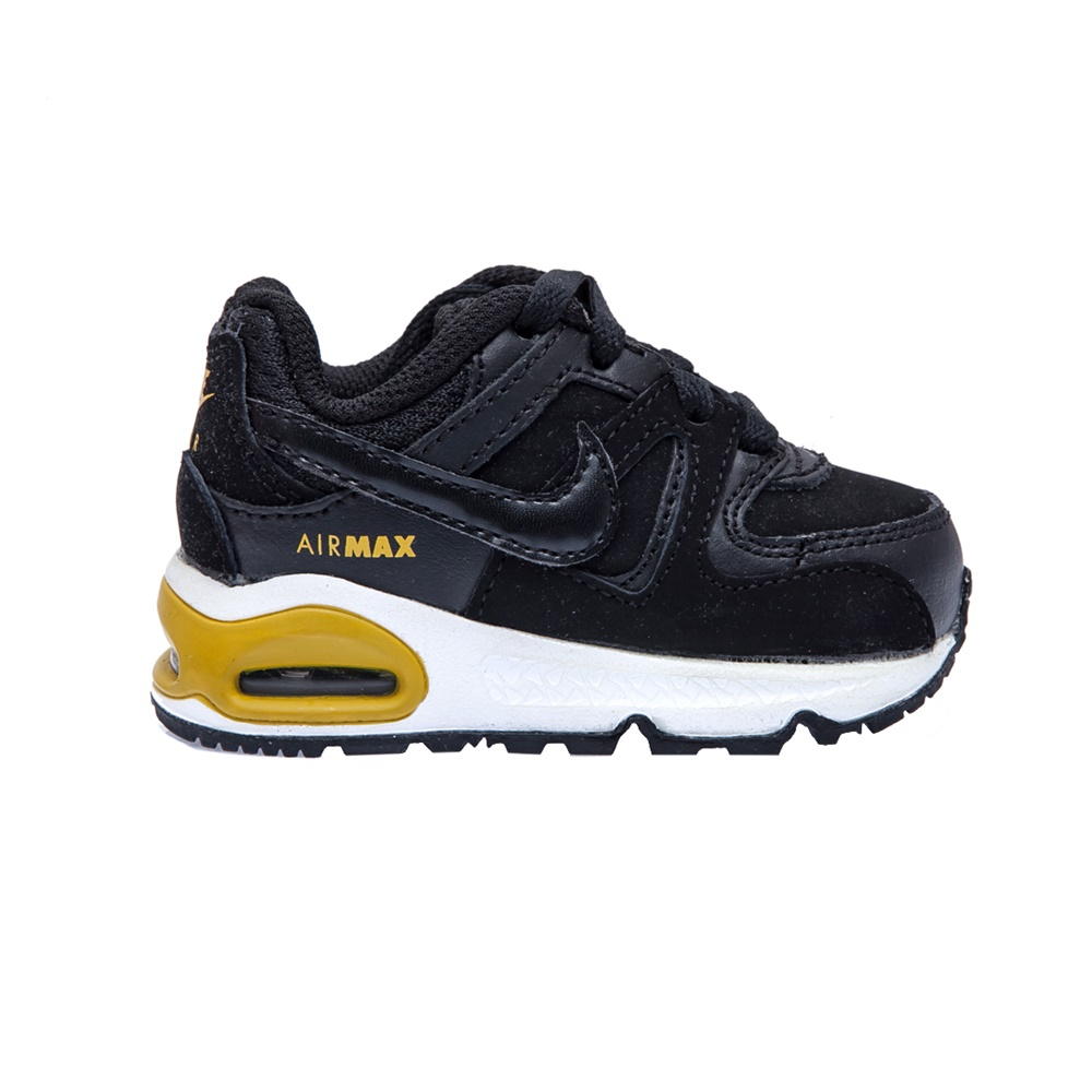 NIKE – Βρεφικά παπούτσια NIKE AIR MAX COMMAND μαύρα