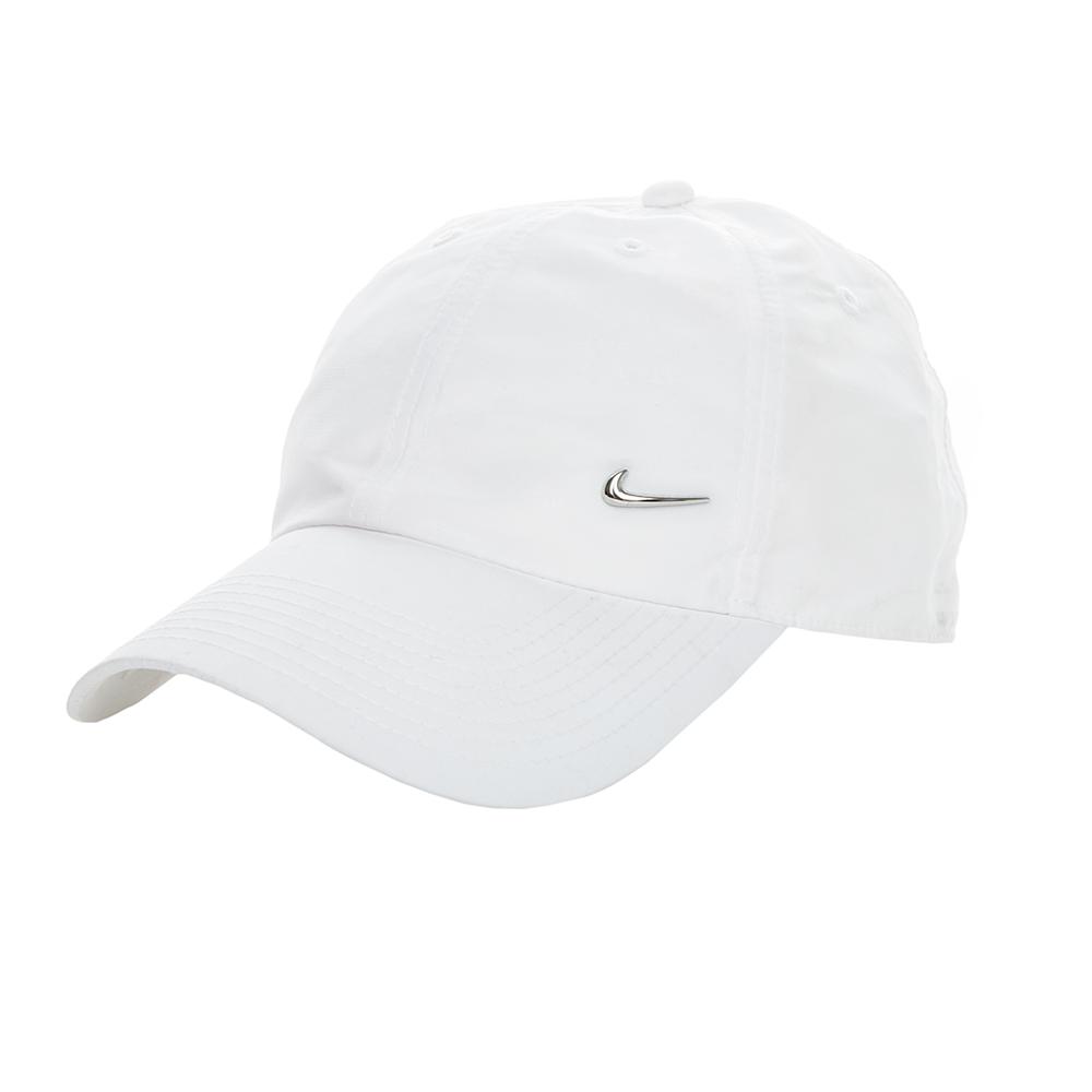 NIKE - Καπέλο τζόκεϋ Nike λευκό γυναικεία αξεσουάρ καπέλα αθλητικά