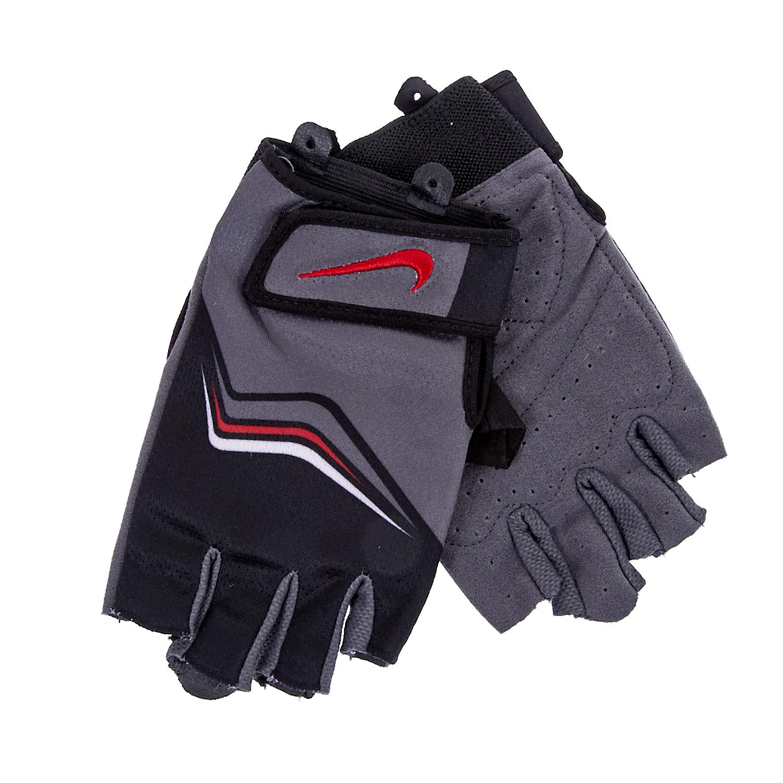NIKE - Ανδρικά γάντια προπόνησης Nike μαύρα-γκρι ανδρικά αξεσουάρ φουλάρια κασκόλ γάντια