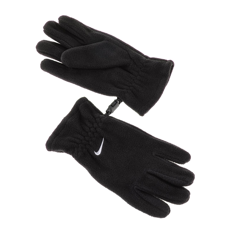 NIKE ACCESSORIES - Παιδικά γάντια ΝΙΚΕ FLEECE μαύρα παιδικά boys αξεσουάρ κασκόλ γάντια